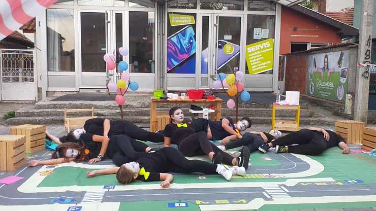 Dečiji PUT – performans uličnog teatra