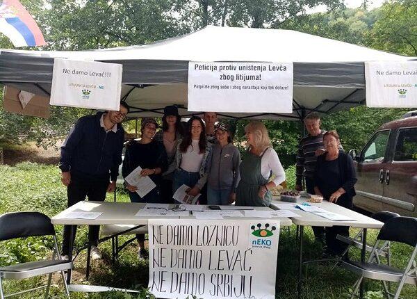 LEVAČ PROTIV LITIJUMA: Protestni skup u Rekovcu protiv istraživanja litijuma