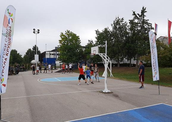 SPORTSKO LETO: Završen turnir u uličnom basketu