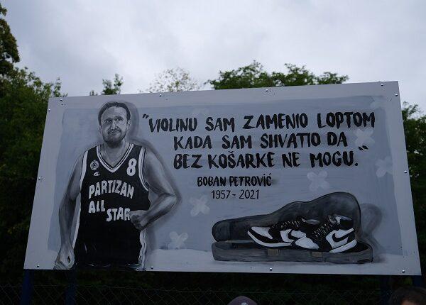U ČAST LEGENDARNOG BOBANA PETROVIĆA: Otvoreno obnovljeno košarkaško igralište!