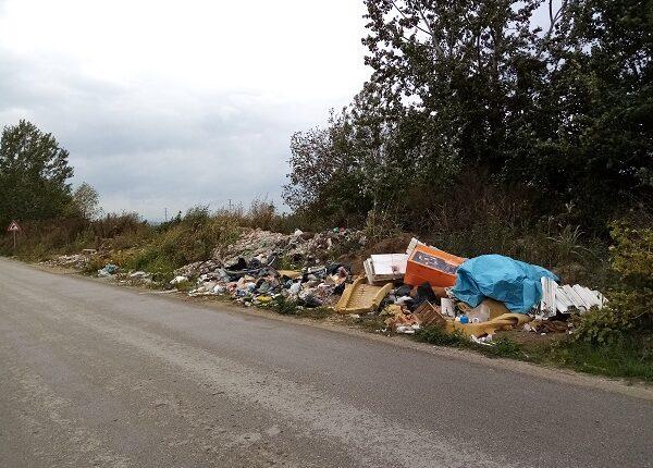 KOMUNALNA PATROLA: Divlja deponija u parunovačkom ključu