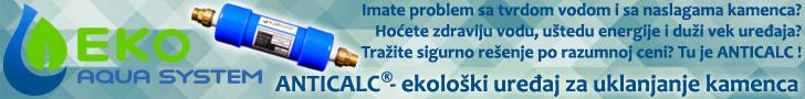 ANTICALC - uređaj za uklanjanje kamenca bez hemijskih postupaka